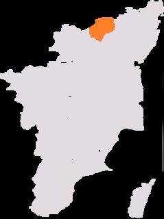 Vellore (Lok Sabha constituency) Lok Sabha Constituency in Tamil Nadu