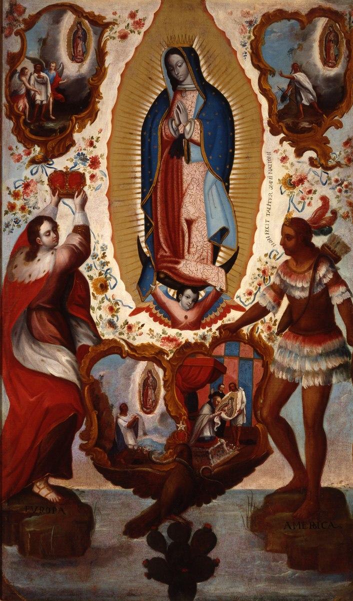 Verdadero retrato de Santa María Virgen de Guadalupe
