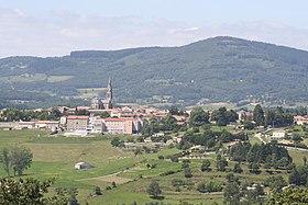 Le village de Vernoux-en-Vivarais