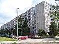 Veronské náměstí, blok v bývalé Holoubkovské.jpg