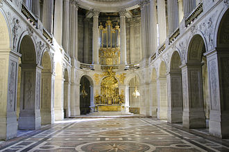 1710 in architecture - Chapel of Versailles