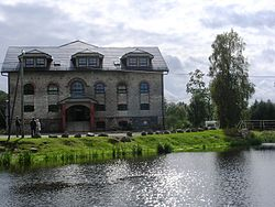 Former watermill house now used as a hotel.