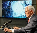 Vice President Mike Pence tours the National Hurricane Center in Miami (48135483942).jpg