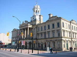 Kivas Tully - Victoria Hall (City Hall), Cobourg, Ontario