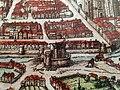 Vieux tours, place François Sicard, la porte neuve ou bastille saint-vincent, extrait,auteur F Hogenberg,1572.jpg