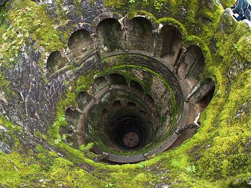 View down the Well