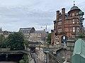 View from Kelvinbridge in Glasgow 02.jpg