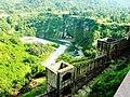 View from top of Kangra Fort overlooking Beas river.jpg