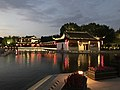 View near water stage of Xitang Town at dusk 4.jpg