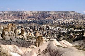 Cappadocia - View of Cappadocia landscape