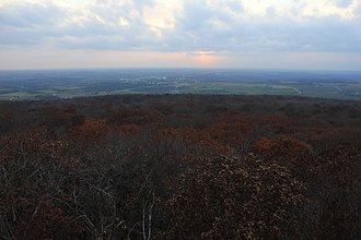Blue Mound State Park - Image: Viewfromwesttower