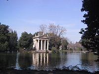 Il Tempio di Esculapio a Villa Borghese