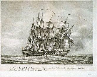 HMS Milan (1805) - Image: Ville de Milan Cleopatre Caussé PU5687