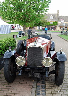 Vauxhall 30-98 A car and its based on the Prince Henry
