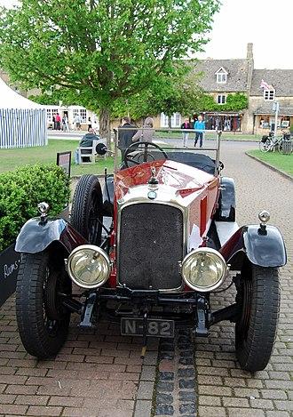 Vauxhall 30-98 - 30–98 OE Velox tourer 1924