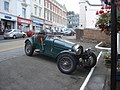Vintage car parked outside the Foley Arms Hotel - geograph.org.uk - 545509.jpg