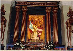 Catedral Metropolitana Basílica de San Juan Bautista (San Juan, Puerto Rico) - Image: Virgen de La Providencia in the Cathedral of San Juan Bautista