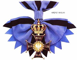 Virtuti Militari award, Polands highest military decoration for heroism and courage in the face of the enemy at war