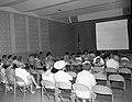 Visitors at orientation program at Visitor Center auditorium. ; ZION Museum and Archives Image ZION 8776 ; ZION 8776 (20d8dc45775140129f9537c75e5e5077).jpg