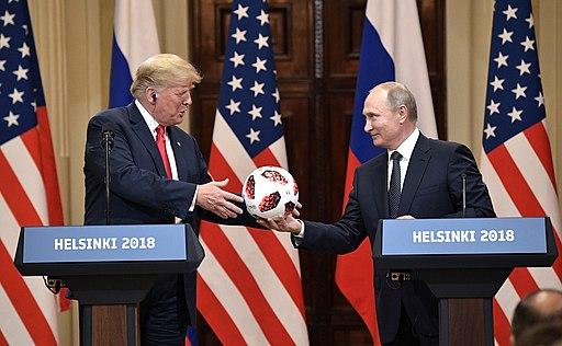 Vladimir Putin & Donald Trump in Helsinki, 16 July 2018 (10)