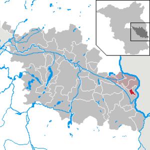 Vogelsang, Brandenburg - Image: Vogelsang in LOS