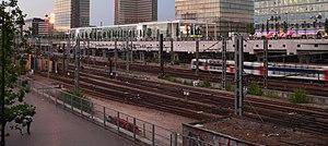 Gare d'Austerlitz - Image: Voies Austerlitz p 1040510