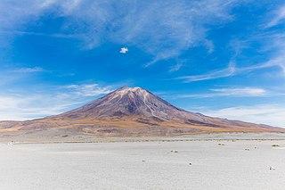Paniri mountain in Chile