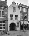 voorgevel met poort - middelburg - 20156689 - rce