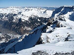 Vorab - Image: Vorab Nordflanke mit Gletscherhorn, Zwoelfihorn