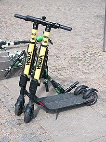 Motorized scooter - Wikipedia