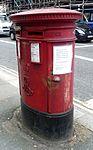 Vote Brexit poster on pillar box, London.jpg