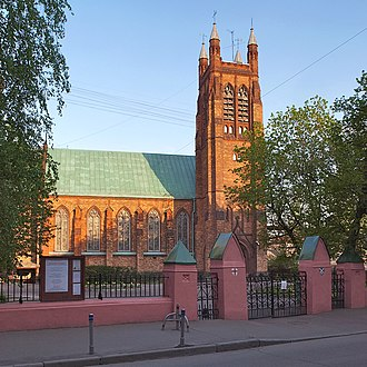 St. Andrew's Anglican Church, Moscow - St. Andrew's in 2009
