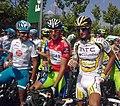 Vuelta a España 2010 -Mosquera, Nibali y Velits.jpg