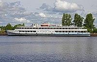 Vyborg June2012 Korolenko Hotel Ship.jpg