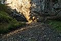 Vyschlé koryto Sloupského potoka před ponorem, přírodní rezervace Sloupško-Šošůvské jeskyně, okres Blansko (02).jpg