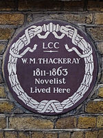 W.M. THACKERAY 1811-1863 Novelist Lived Here.jpg