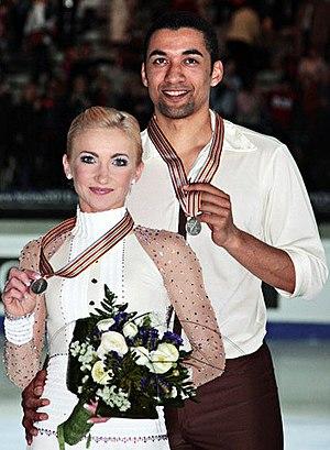 Aliona Savchenko - Savchenko and Szolkowy at the 2010 World Championships.