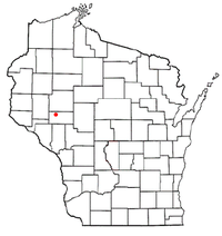 Location of Altoona within Wisconsin