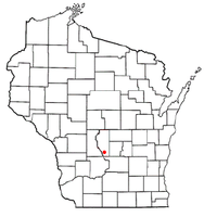 Location of Dell Prairie, Wisconsin
