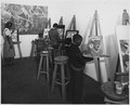 WPA, FAP, kids involved in painting and sculptures based upon spirituals, Jacksonville, Florida, Extension Art Gallery - NARA - 196147.tif