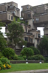 Habitat 67 By Marc-André Desrosiers (Wikipedia Takes Montreal participant) (Uploaded from Wikipedia Takes Montreal) [CC-BY-SA-3.0 (https://creativecommons.org/licenses/by-sa/3.0)], via Wikimedia Commons
