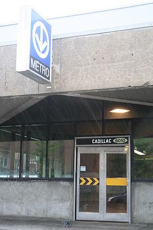 Cadillac station - Image: WTMTL T32 IMG 8349