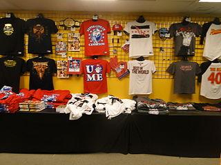 http://commons.wikimedia.org/wiki/File:WWE_Merchandise.jpg