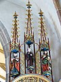 Waldburg Pfarrkirche - Wolfgangsaltar 5 Gesprenge.jpg