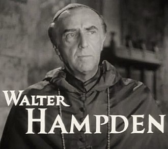 Walter Hampden - Hampden as the Archbishop in The Hunchback of Notre Dame (1939)