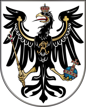 Treaty of the Three Black Eagles - Image: Wappen Preußen