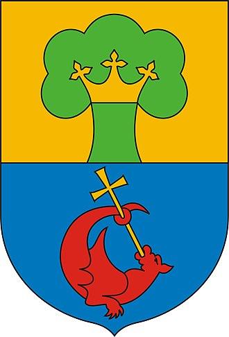 Érd - Image: Wappen erd