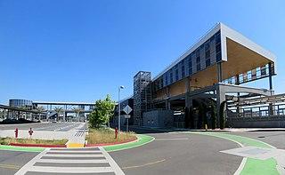 Warm Springs/South Fremont station Rapid transit station in San Francisco Bay Area
