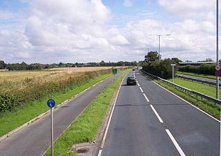 A565 road road in England