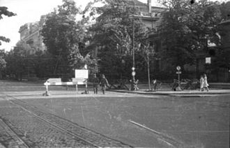 Operation Kutschera - The site of the assassination